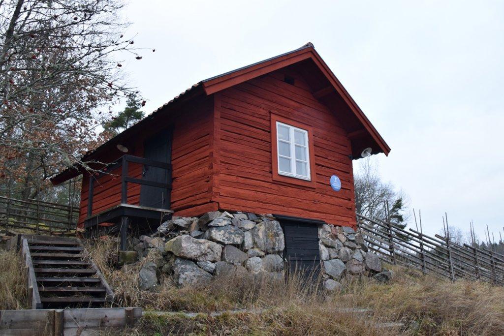 Holzhaus im Tyresta Nationalpark Schweden